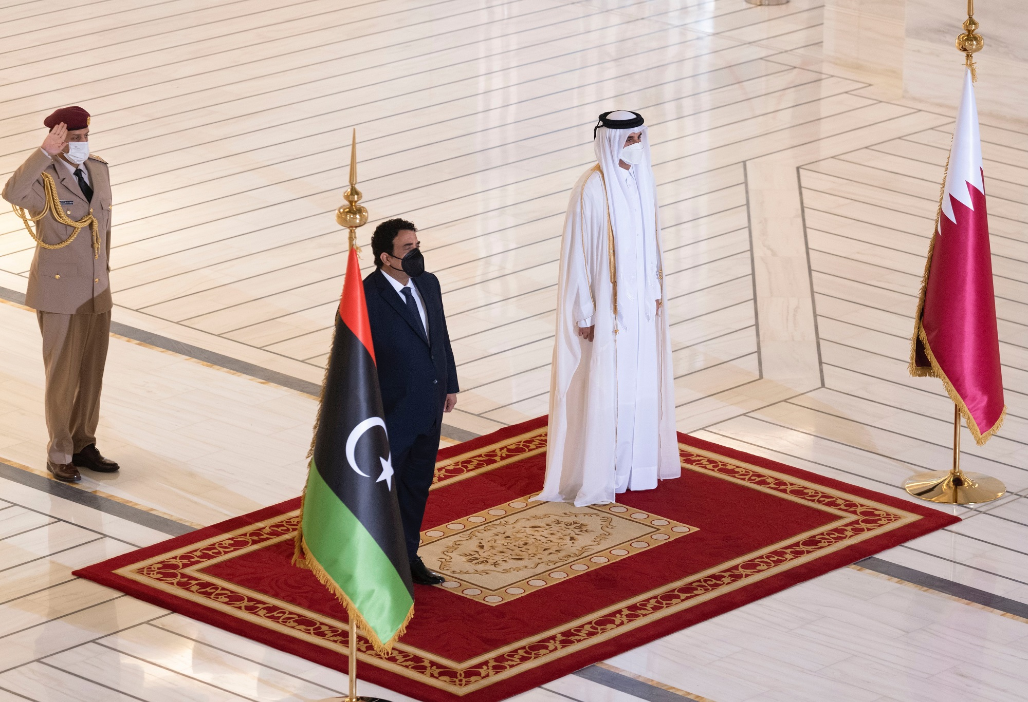 Amir Holds Talks with Chairman of Libyan Presidential Council