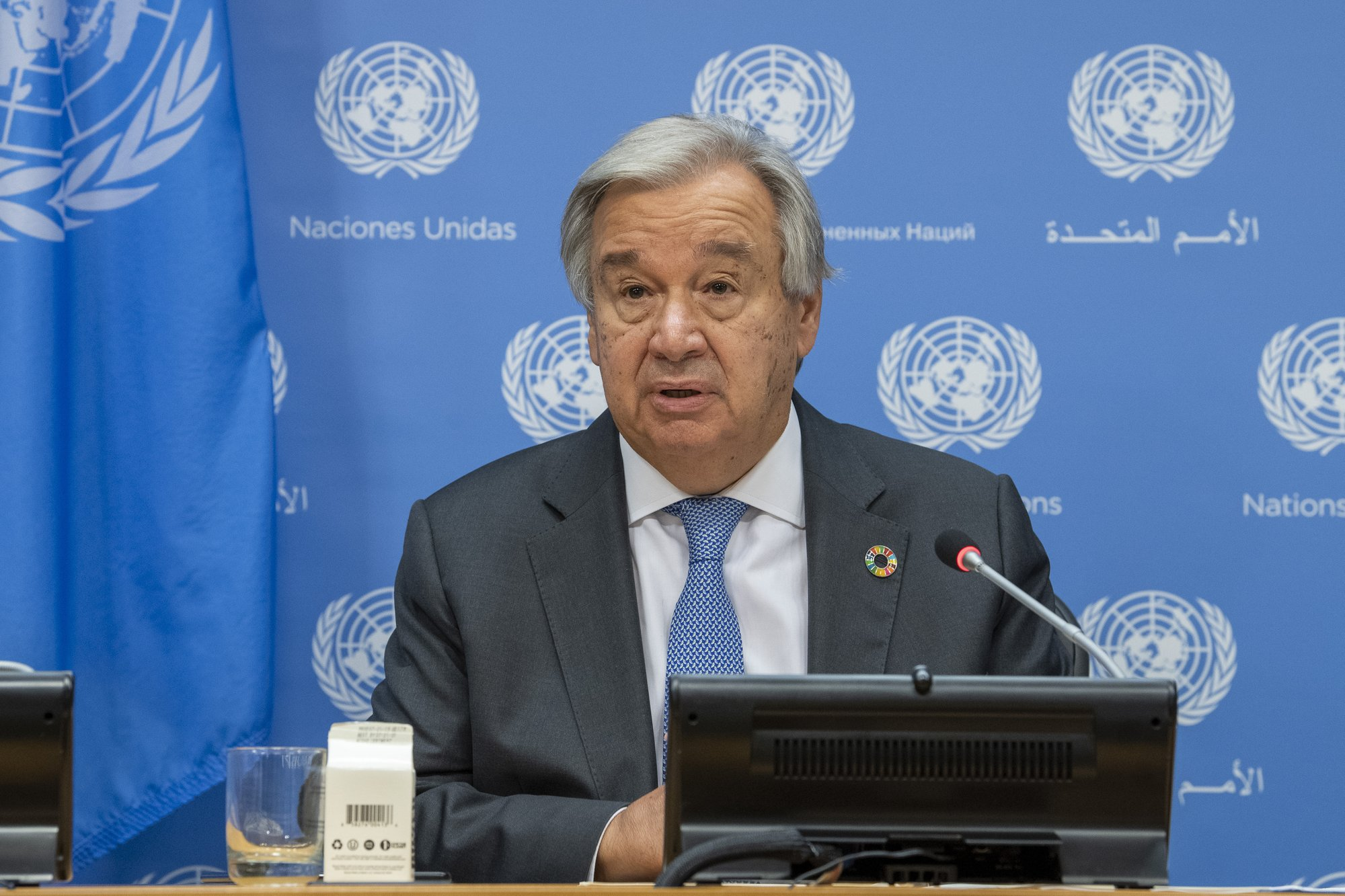 UN Secretary-General Calls for Elimination of Nuclear Weapons