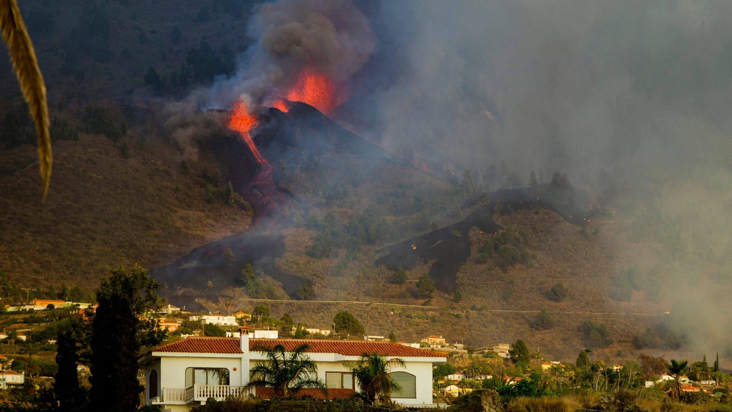 Volcano Erupts in Spanish Island of La Palma