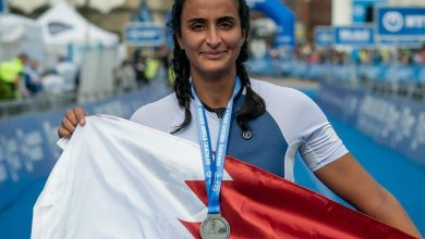 Sheikha Hind completes her first Olympic distance triathlon