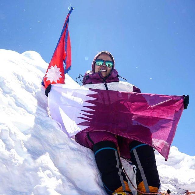 Qatari mountaineer summits eighth-highest mountain without oxygen