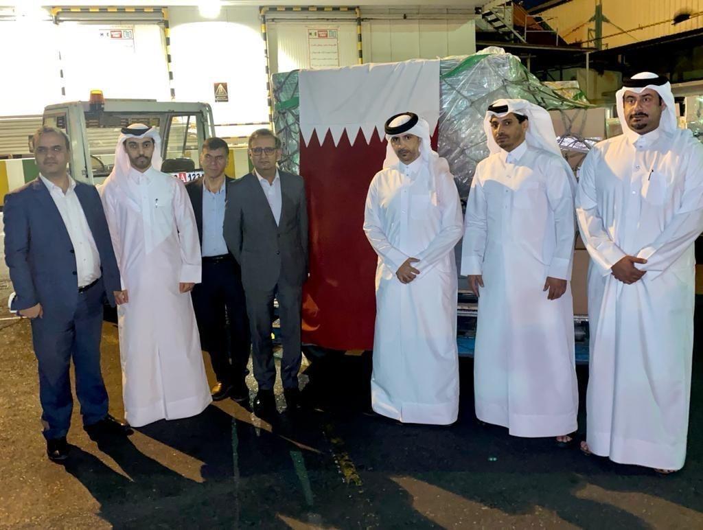 Qatar Sends Urgent Medical Aid to Iran