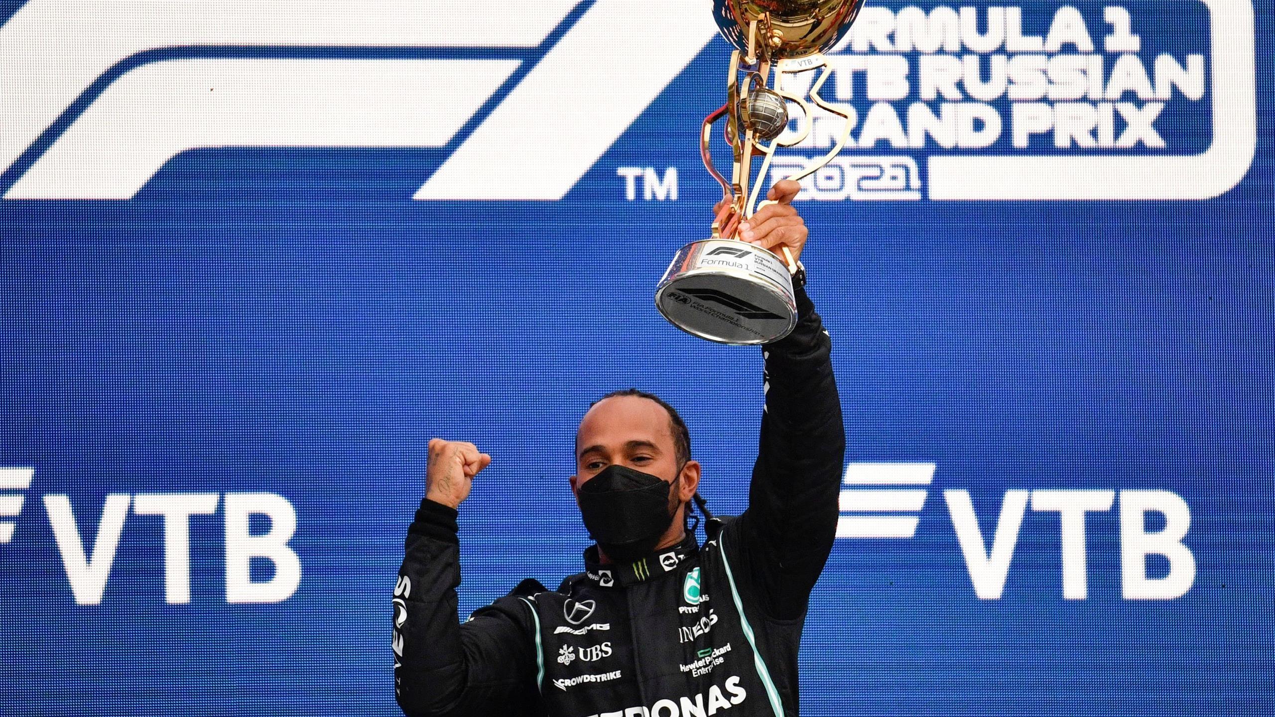 Britains Hamilton Wins Formula 1 Russian Grand Prix