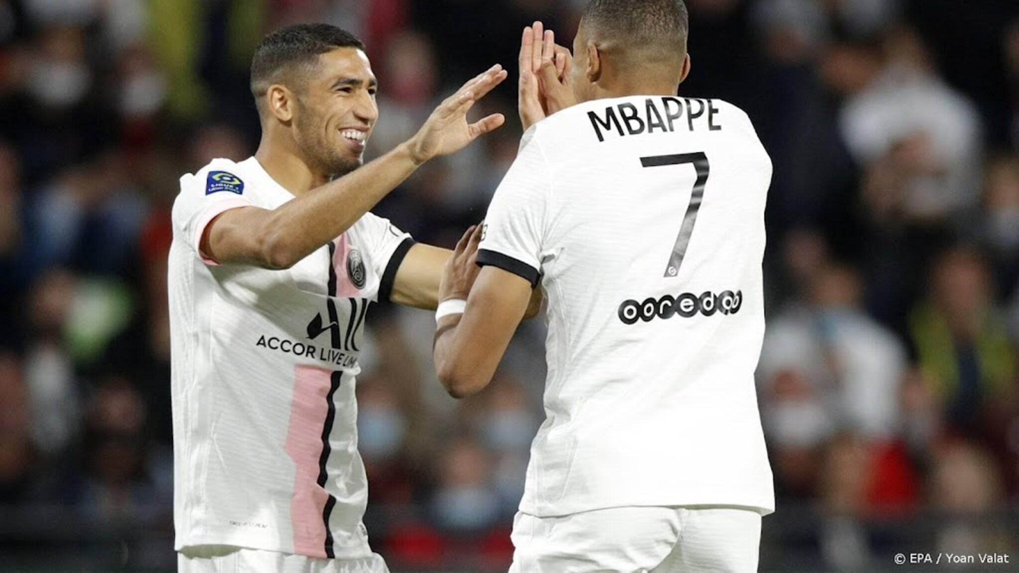Hakimi Leads PSG to Victory Over Metz in the French League