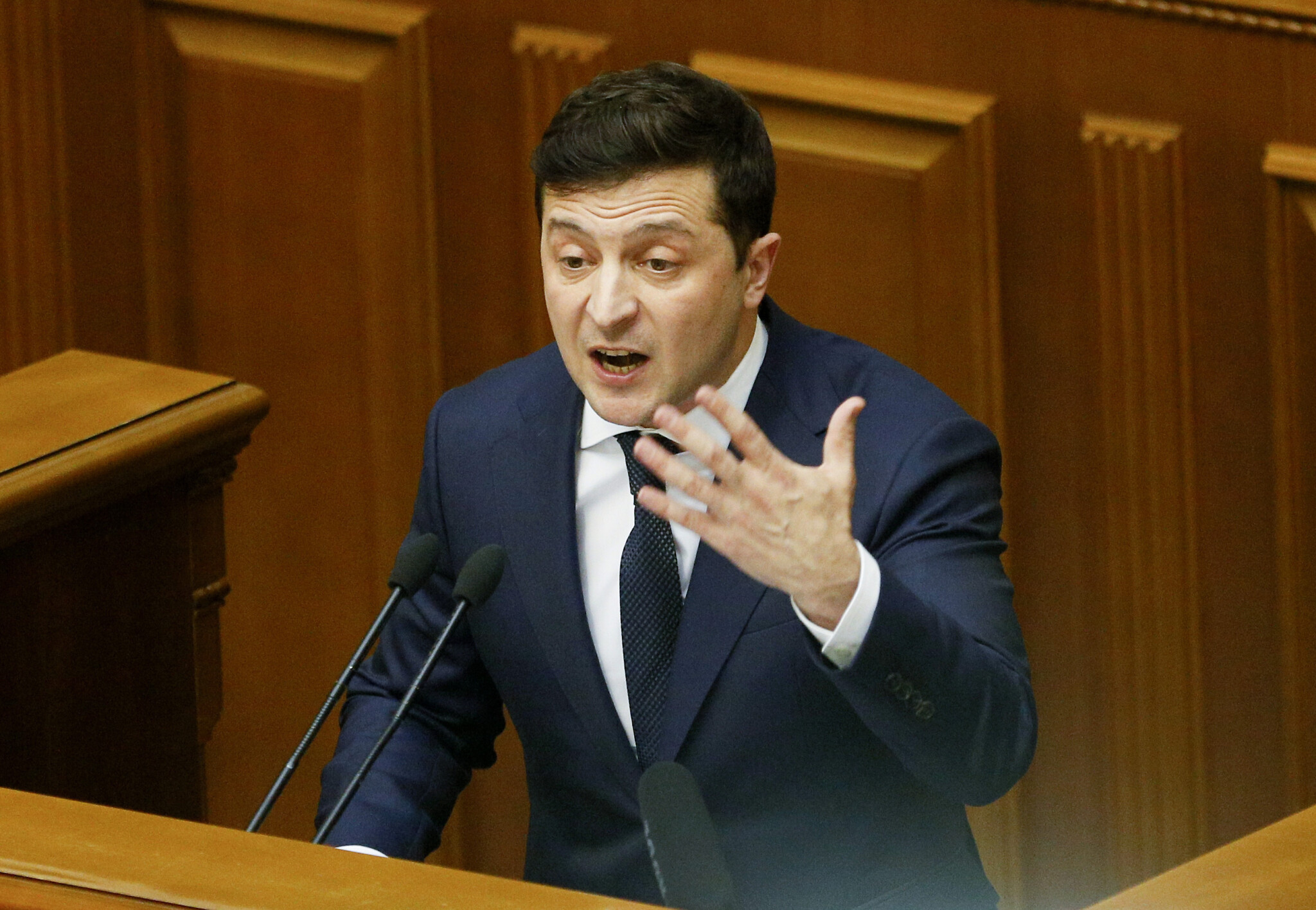 Ukrainian President Does Not Rule Out Possibility of All-Out War with Russia