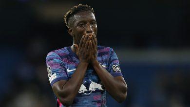 Man City survive Nkunku hat-trick to overwhelm Leipzig 6-3