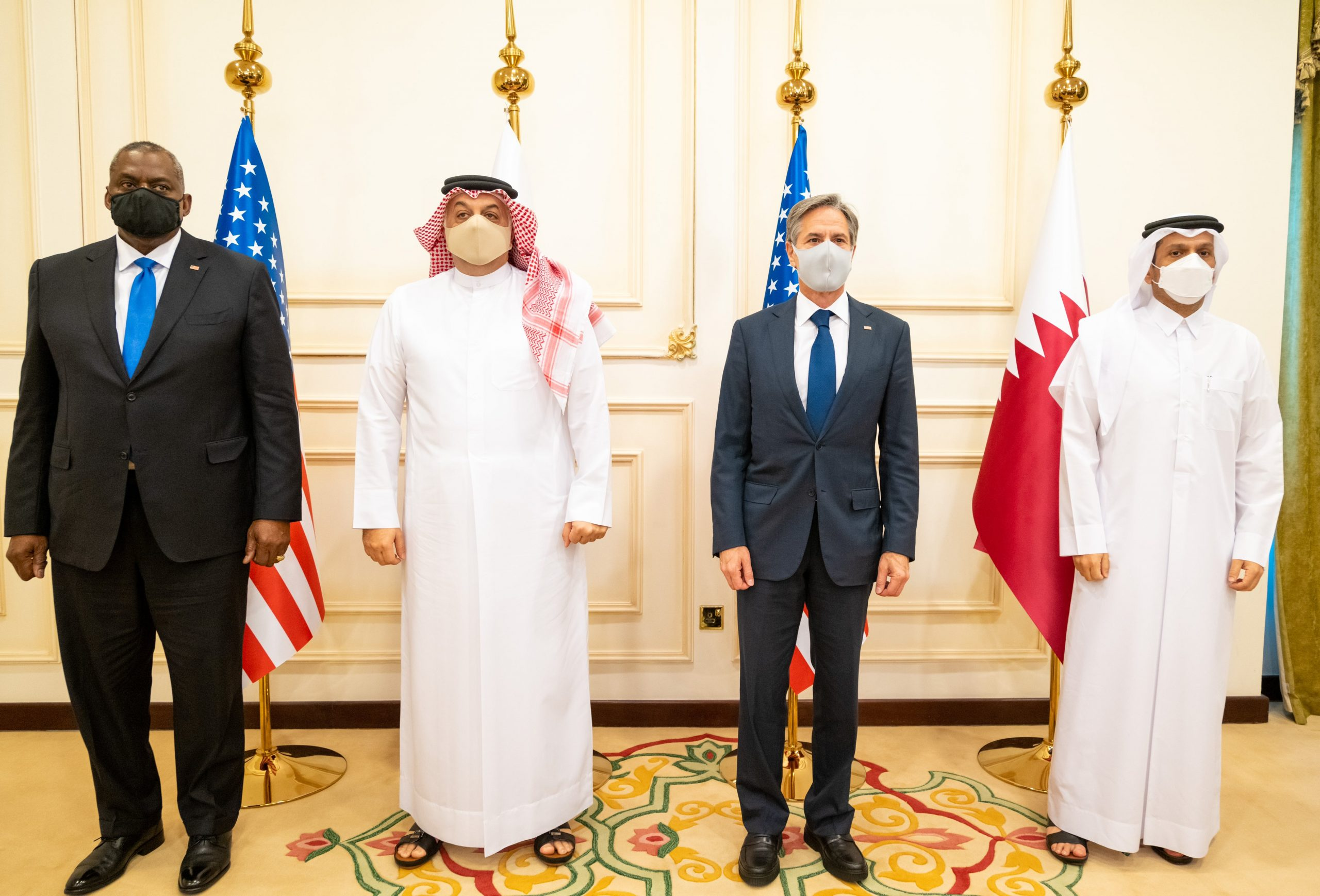The Deputy Prime Ministers Meets US State and Defense Secretaries