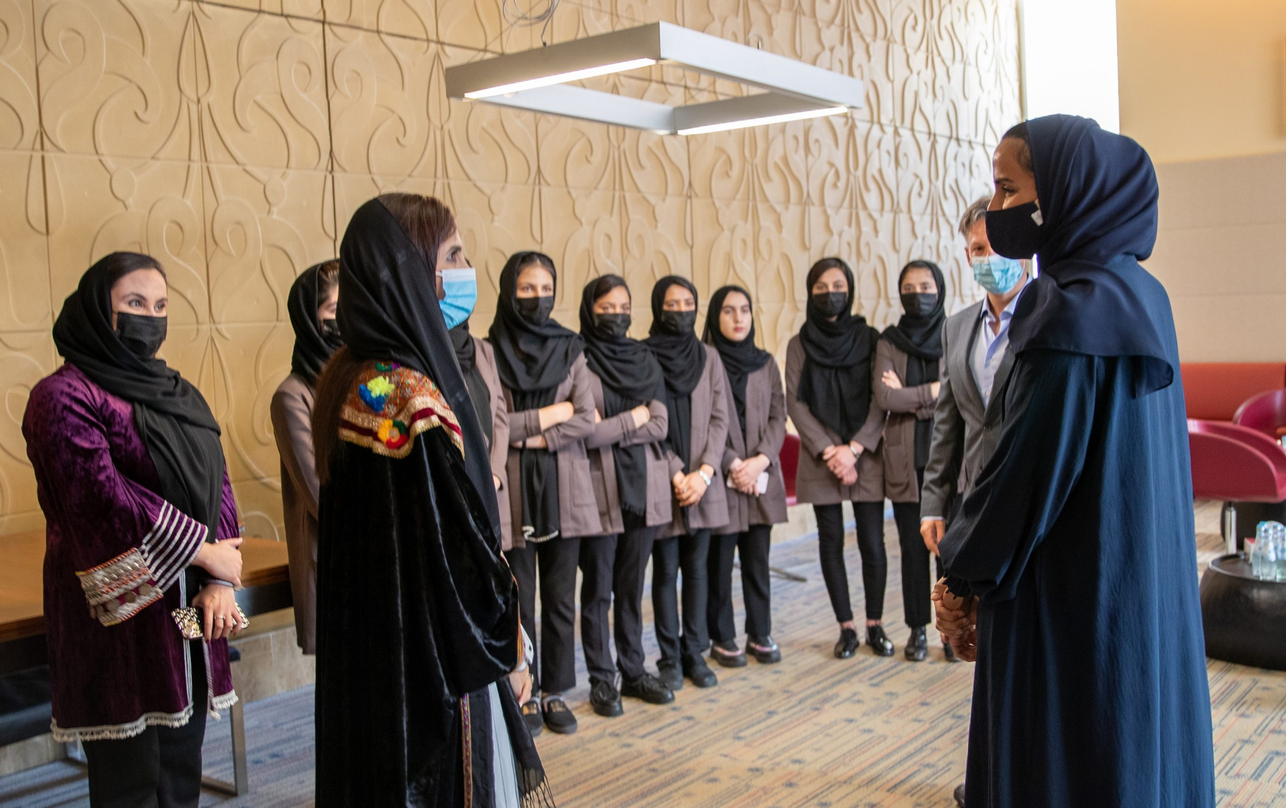 QF Grants Scholarships for Female Afghan Robotics Team to Study at Education City