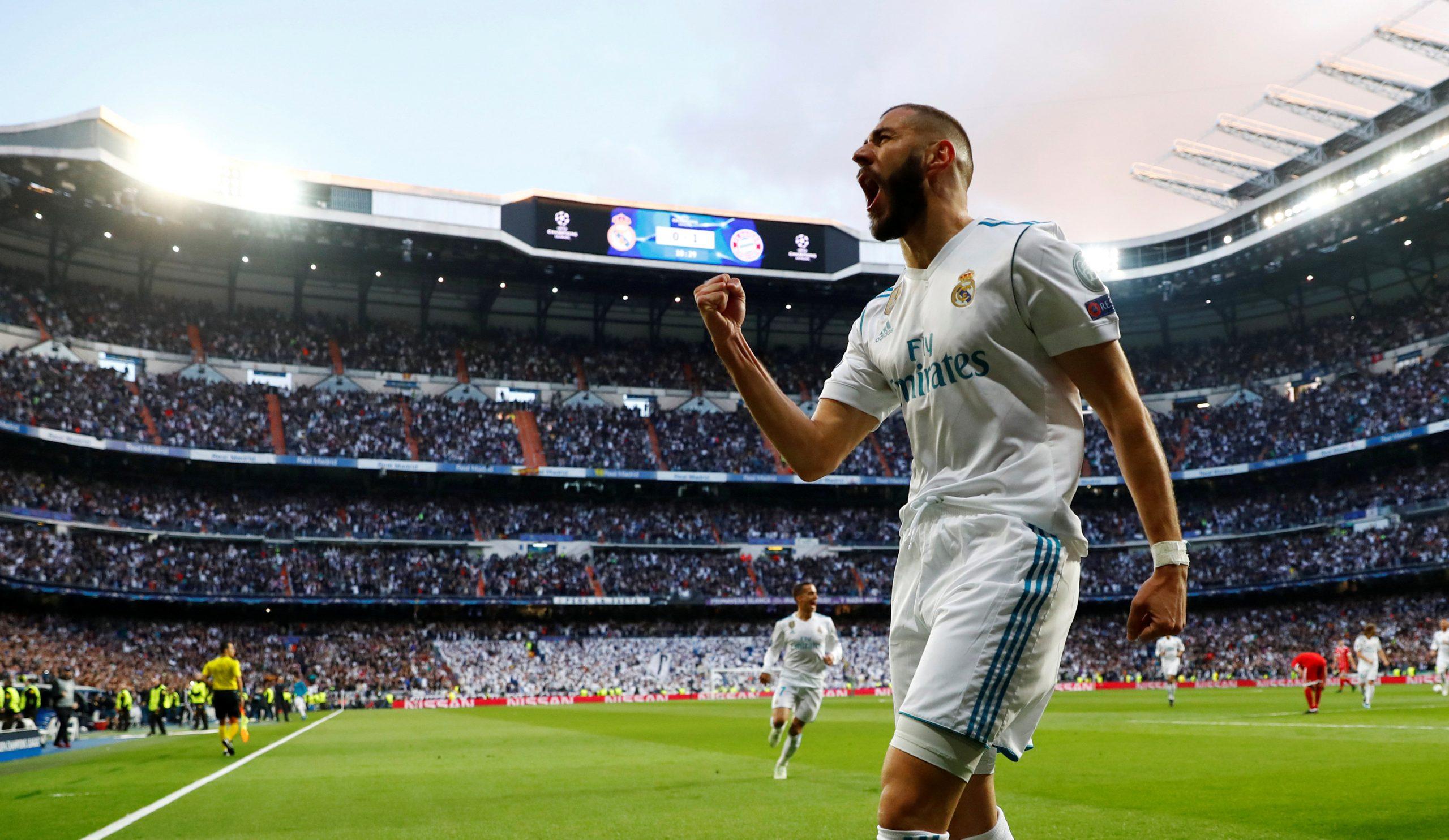 Benzema grabs treble as Real win on Bernabeu return