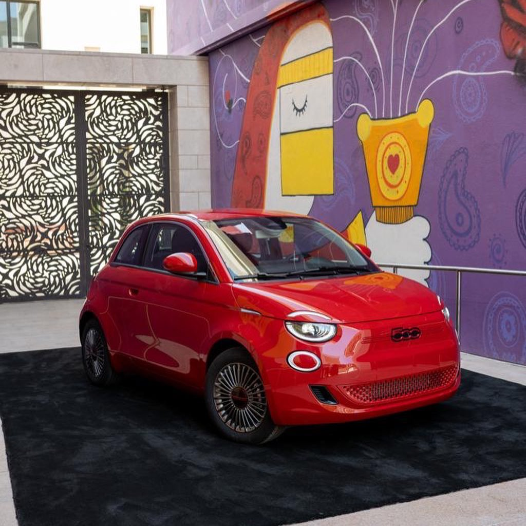 New (500)RED EV on display at Culture Pass Club