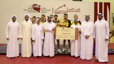 Qatar SC Crowned Champions of Amirs Table Tennis Cup