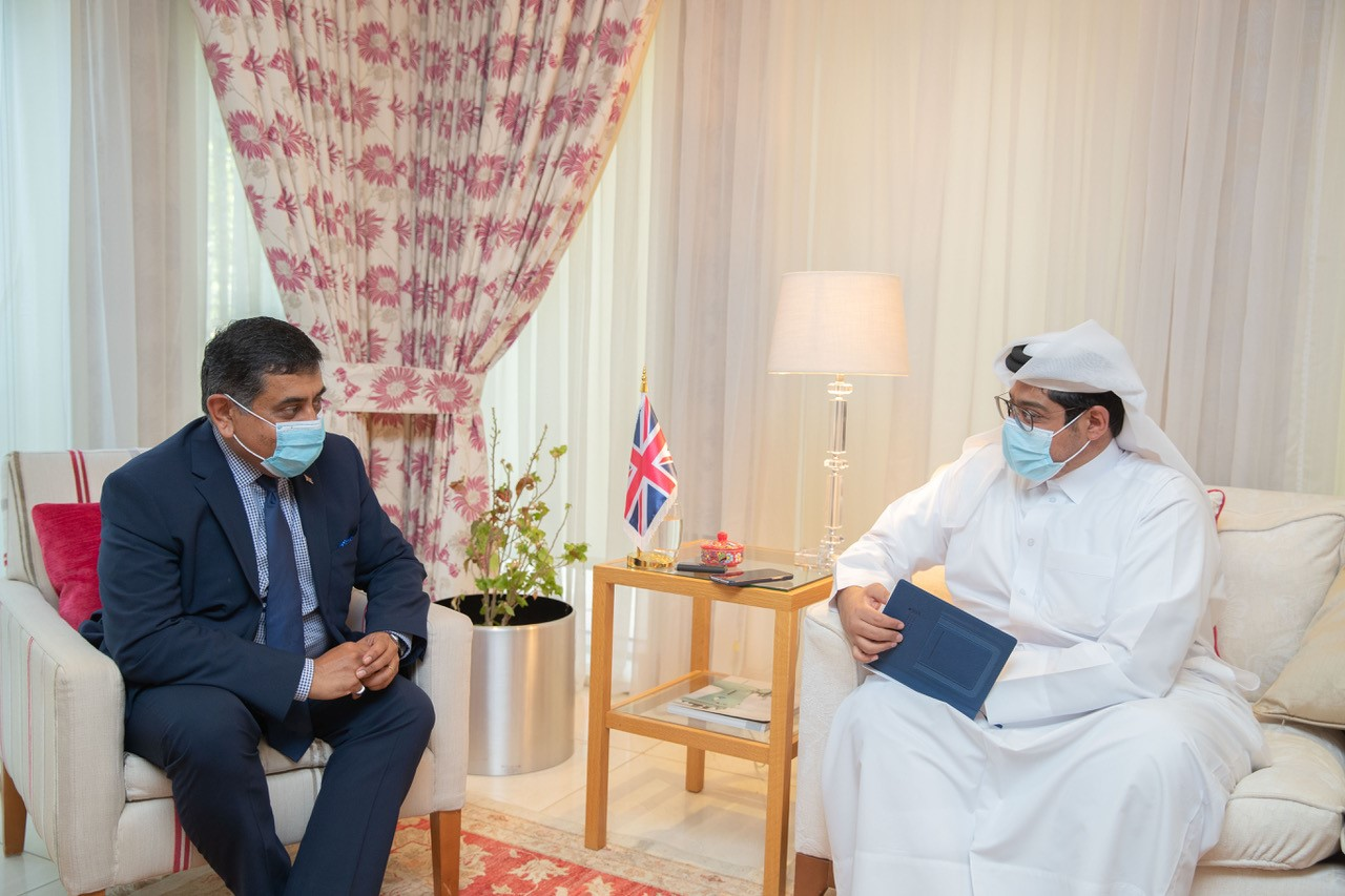 UK Minister: Our Partnership with Qatar Is Strong, We Are Grateful for Its Role in Afghanistan