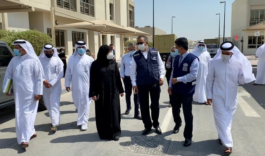 Minister of Public Health Meets WHO Director-General