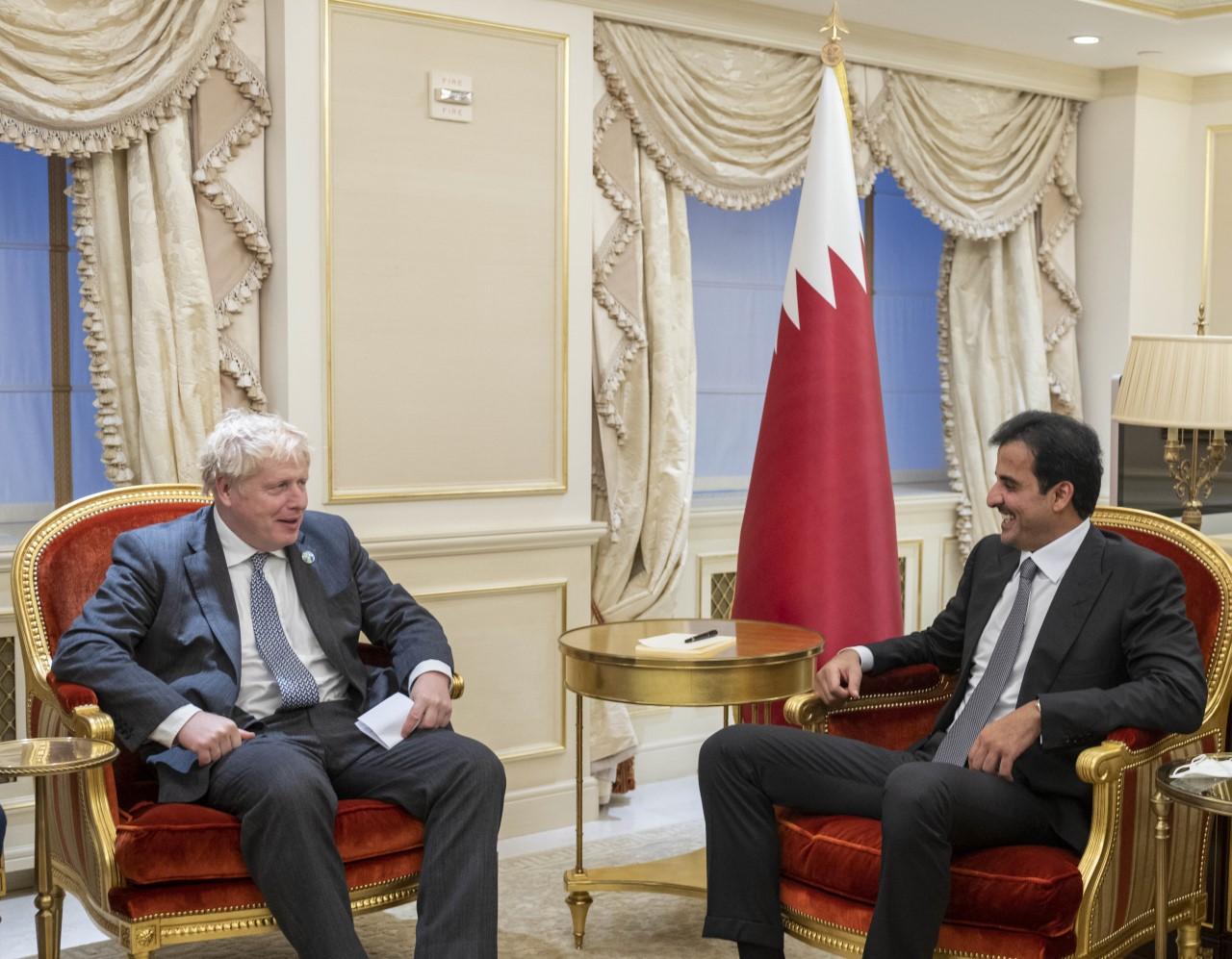 Amir Meets British Prime Minister