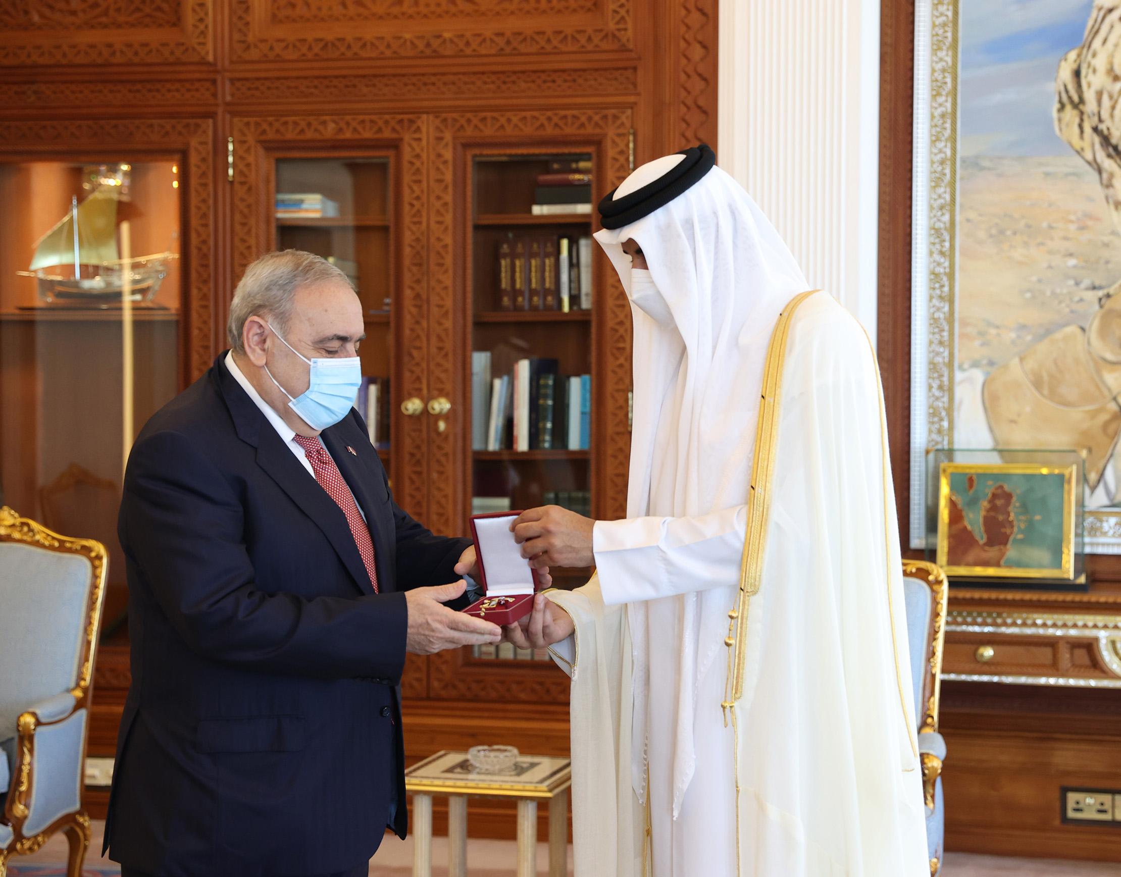 Amir Meets Ambassador of Armenia