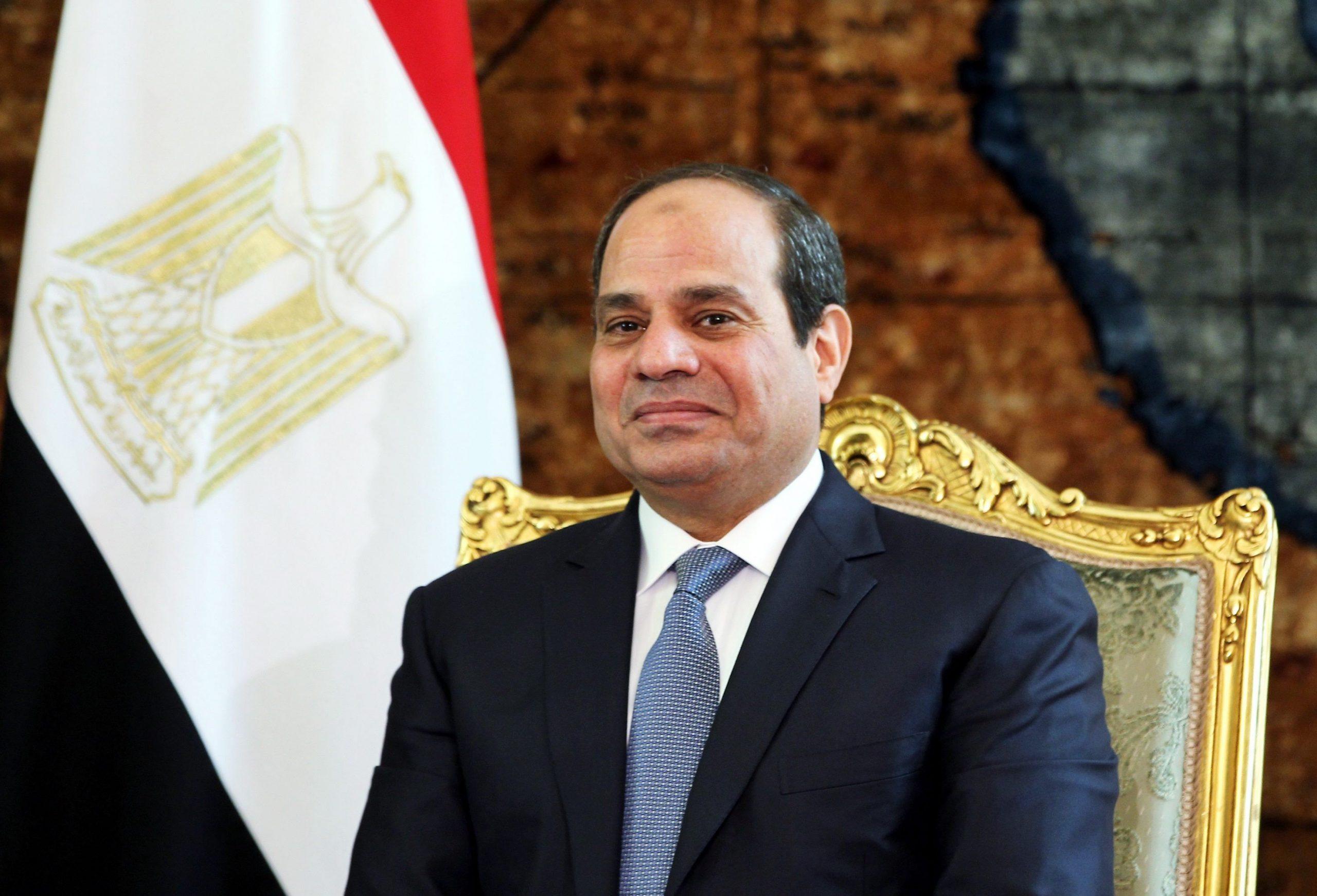 President of Egypt Receives Credentials of Qatari Ambassador