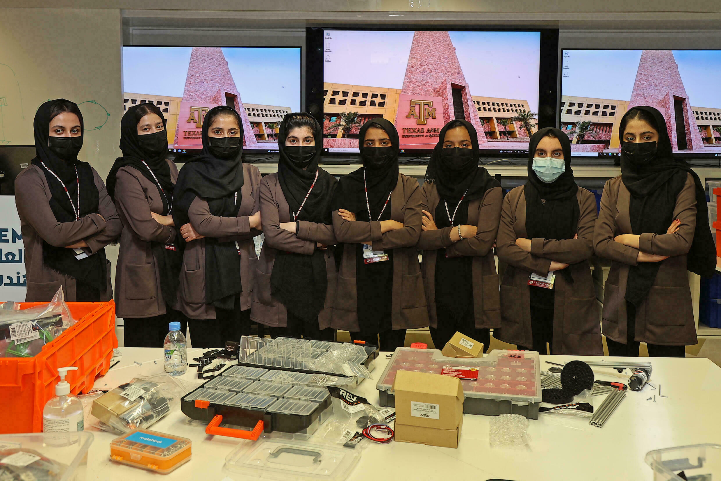 Afghan Girls' Robotics Team Continues Education And Training In Qatar