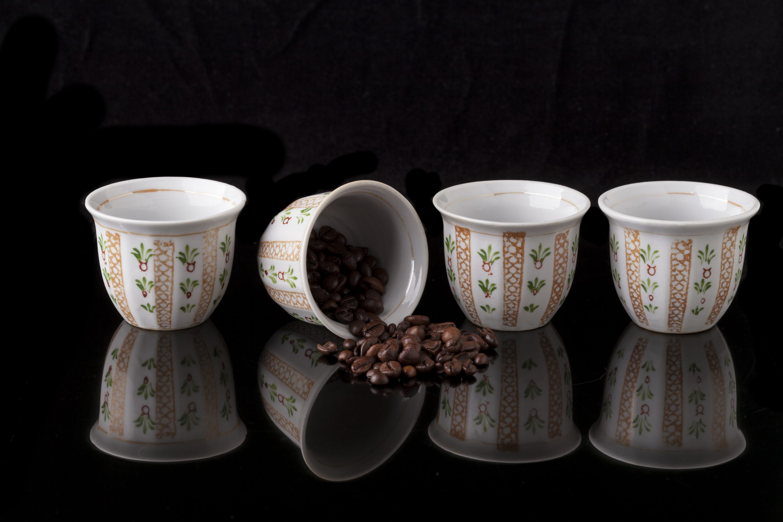 Are there risks to making Arabic coffee?