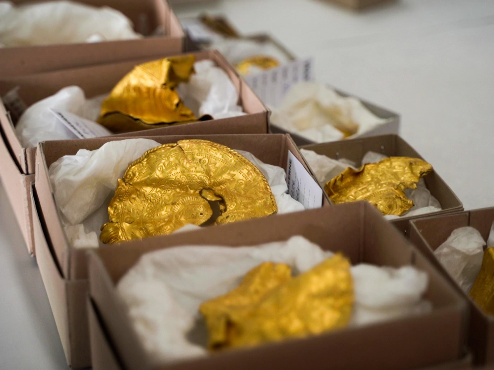 1,500-Year-Old Gold Treasure Trove Found by an Amateur Researcher