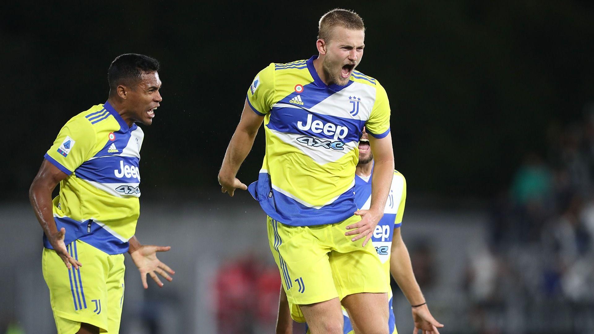De Ligt ends Juve wait for Serie A victory at Spezia