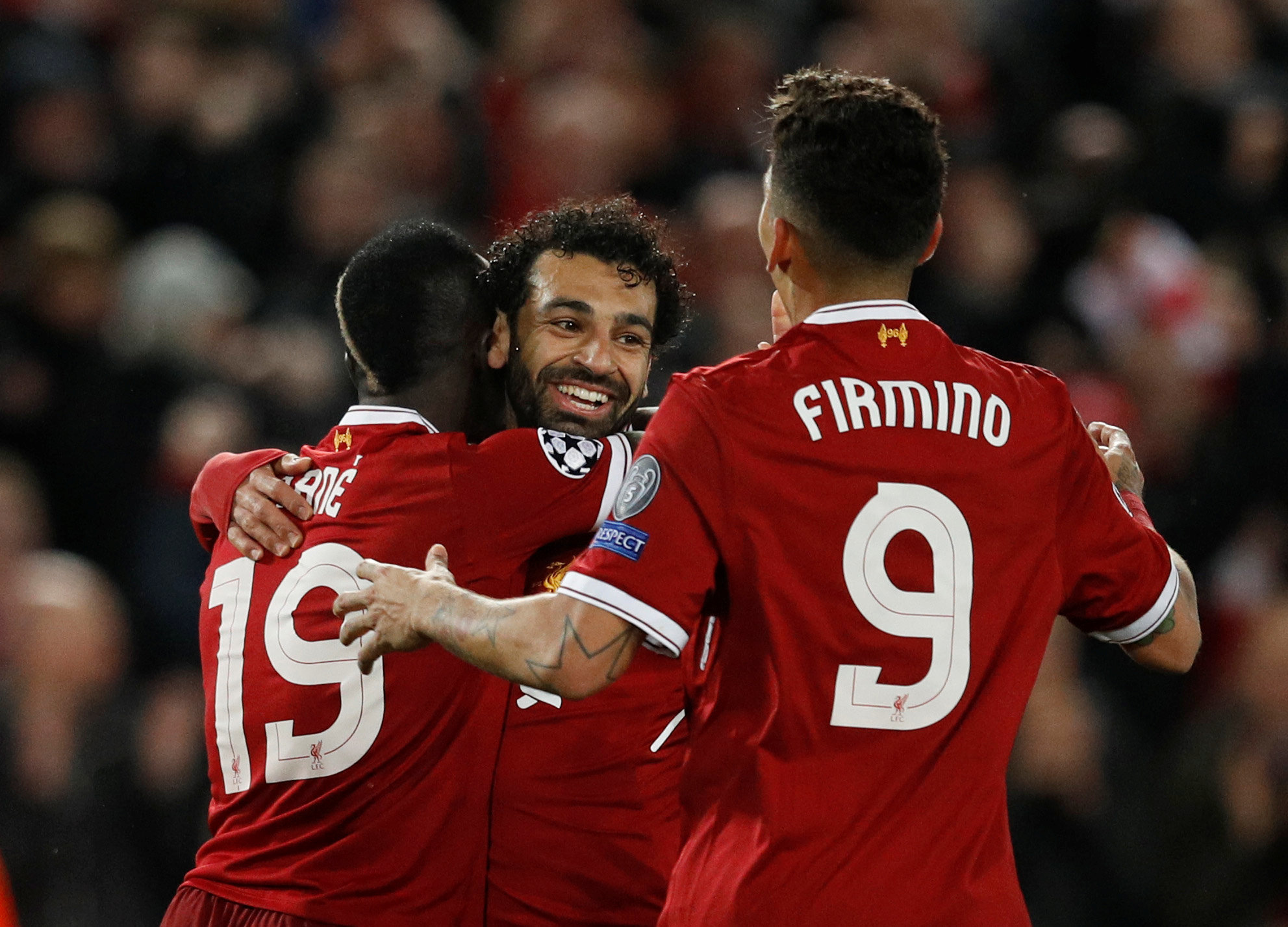Doubles for Salah and Firmino as Liverpool thrash Porto