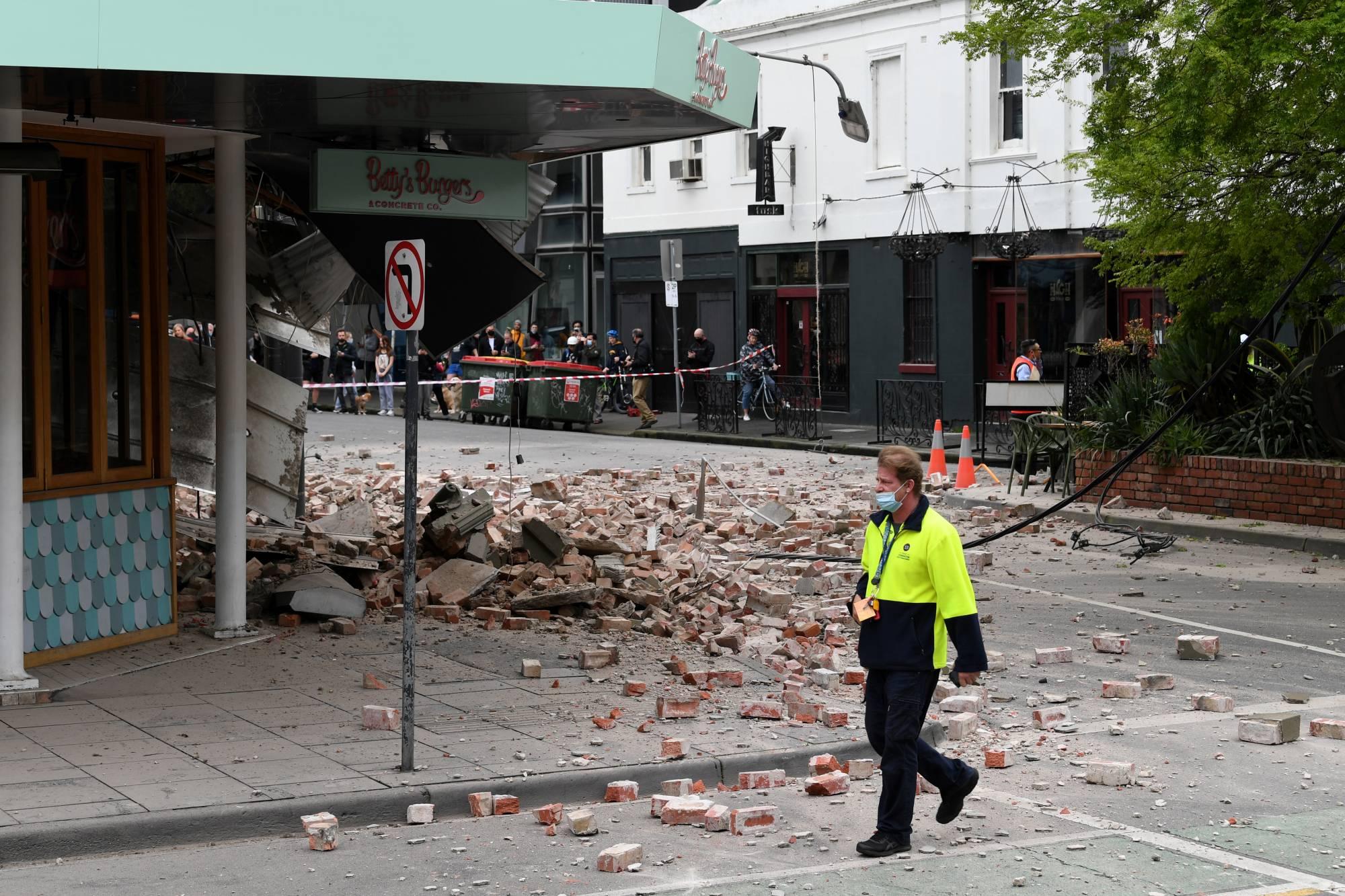Rare 6.0 magnitude earthquake strikes Melbourne