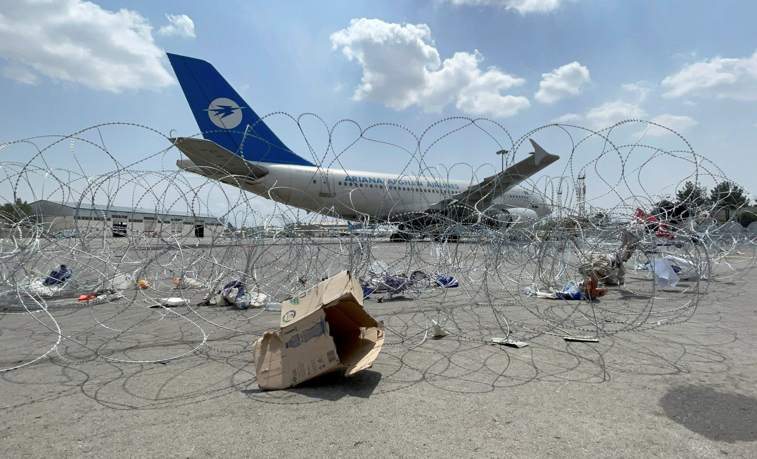 Kabul airport reopens to receive aid: Qatari envoy