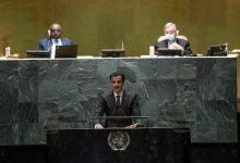 Amir Participates in Opening Session of the General Debate of the 76th Session of the UN General Assembly