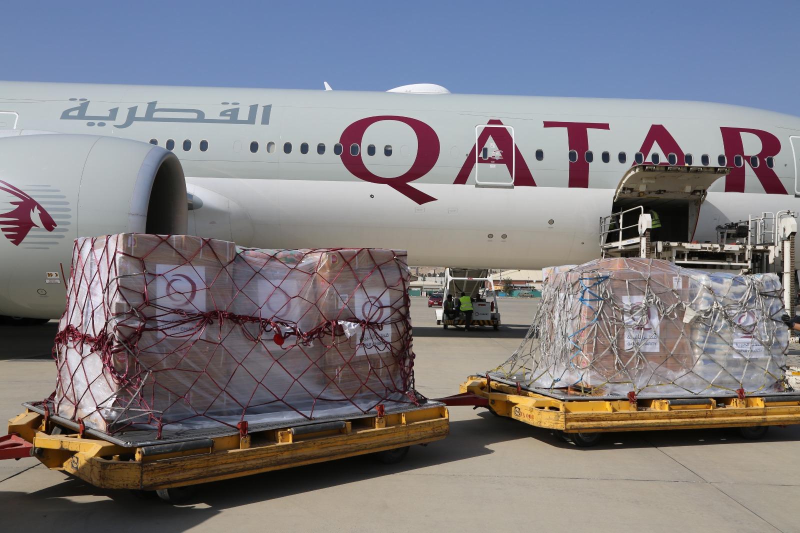 Third Qatari Plane Carrying Humanitarian Aid Arrives in Kabul