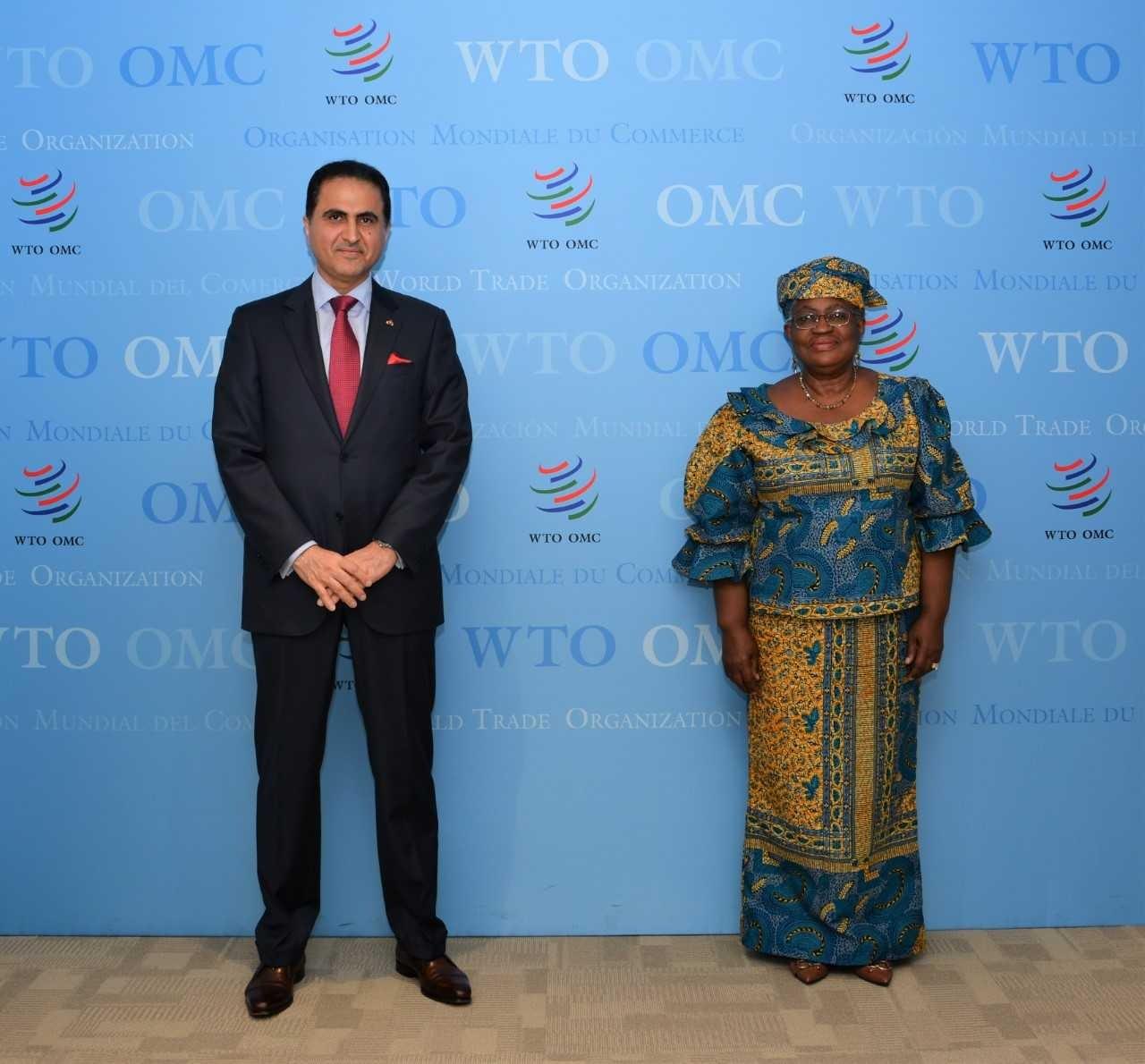 WTO Director-General Meets Qatar's Permanent Representative in Geneva