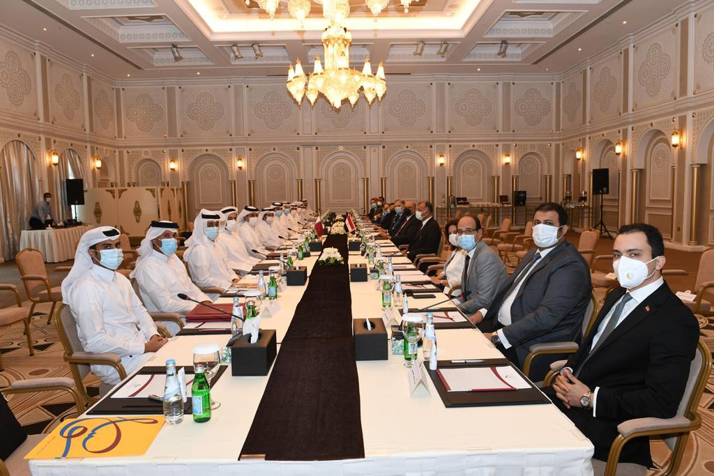 Qatar-Egypt Follow-up Committee Holds 7th Meeting in Doha