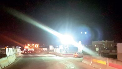 Bright lighting of road projects annoys drivers