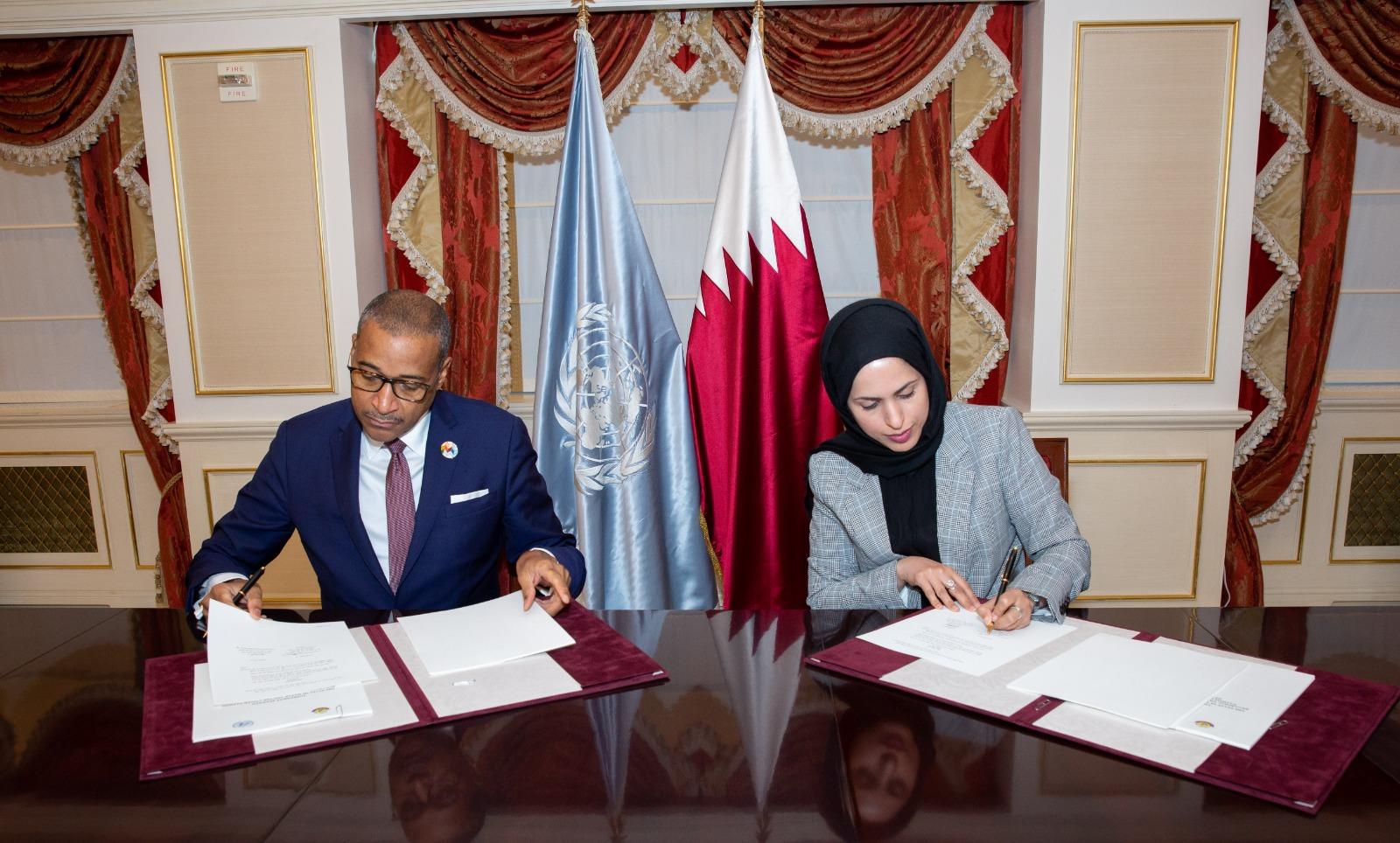 Qatar, UN Sign Agreement on Hosting LDC5 in Doha