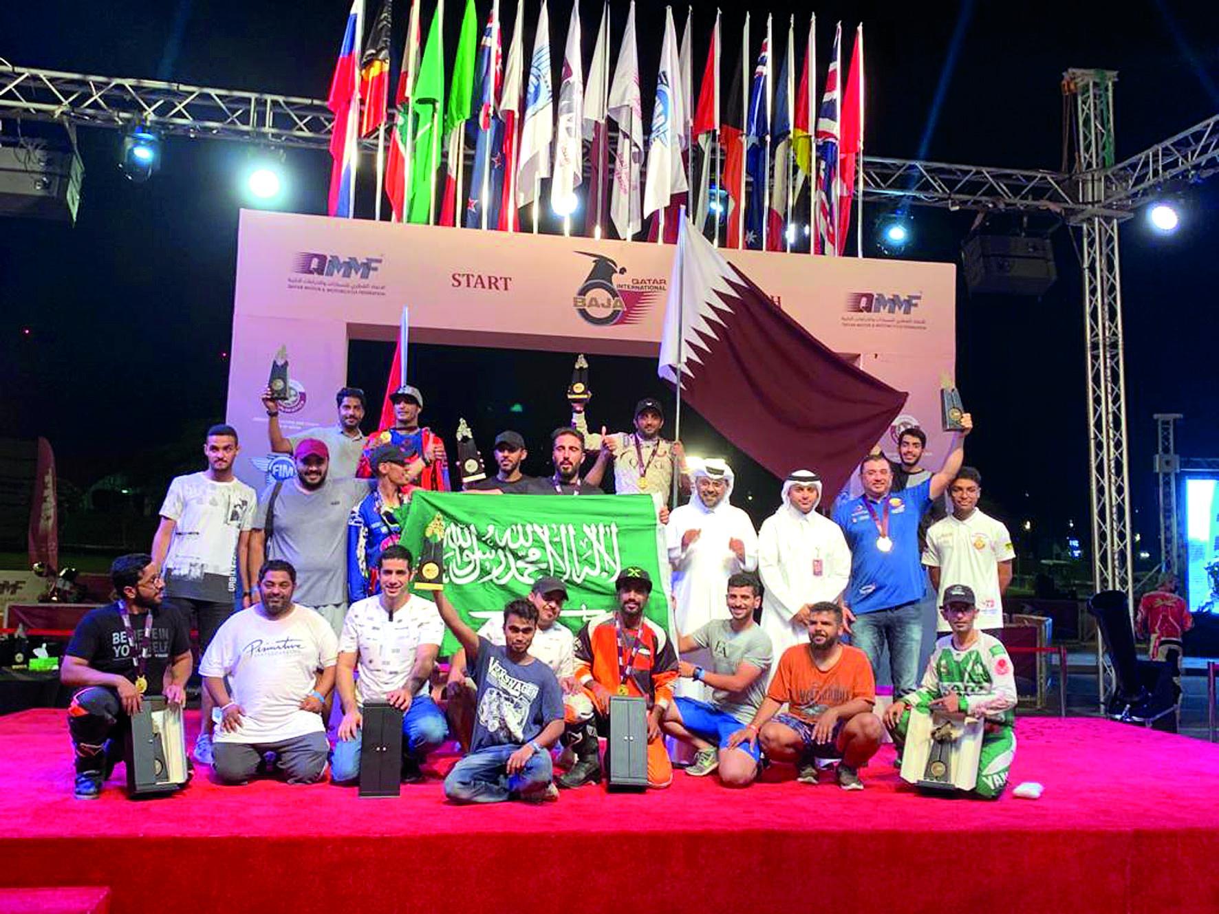 Al Kuwari, Al Balooshi, Al Tuwaijri Seal Victories in Qatar International Baja