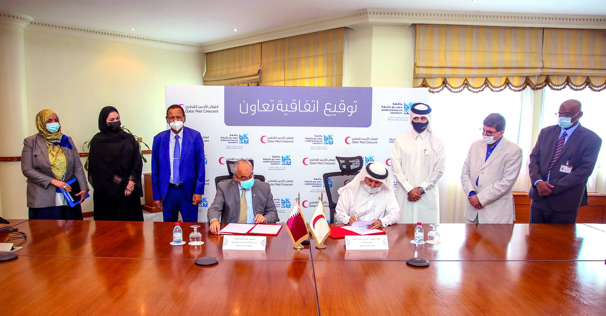 QRCS and HBKU Sign an Agreement to Enhance Cooperation