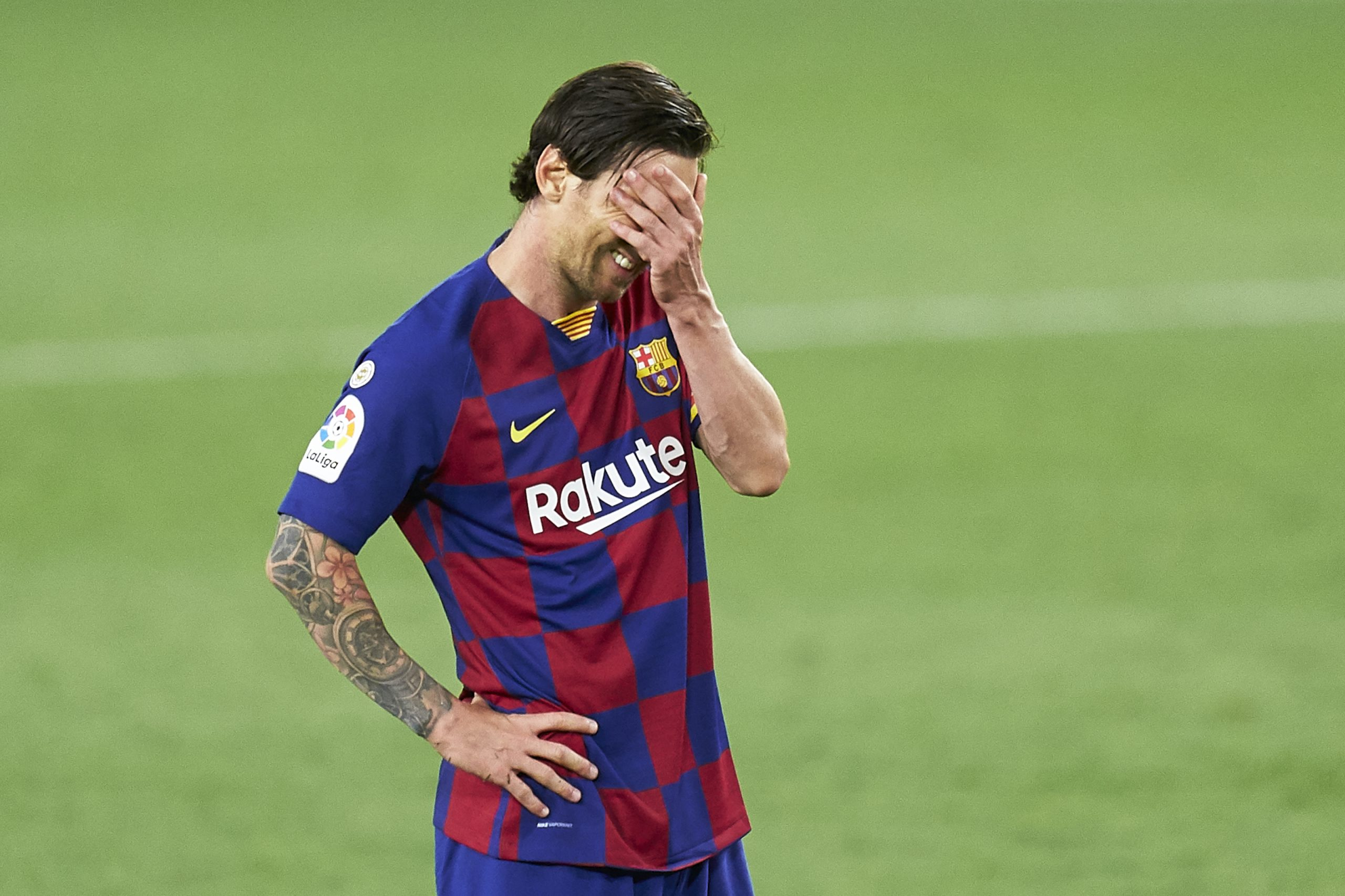 Joan Laporta hoped Lionel Messi would 'play for free' at Barcelona
