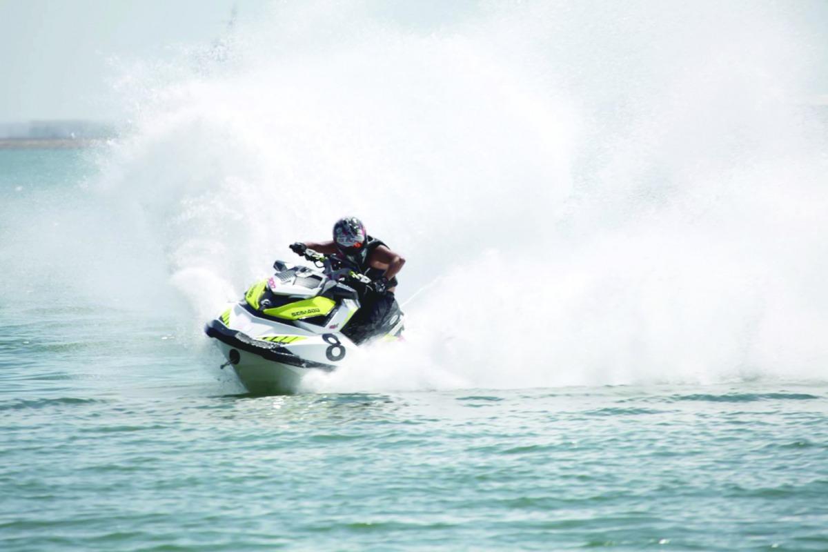 Qatar's Jet Ski Team Take Part in Second Round of World Championship