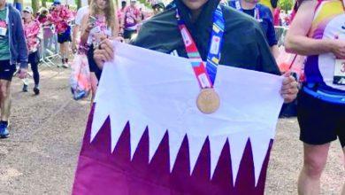 Sheikha Hanouf completes London Marathon breaking nine national records