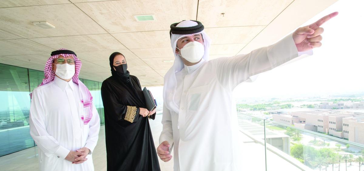 Ambassador of Saudi Arabia visits QF