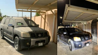 """""""Dusty"""" car disappears from the front of a citizen's house in Al-Khor"""