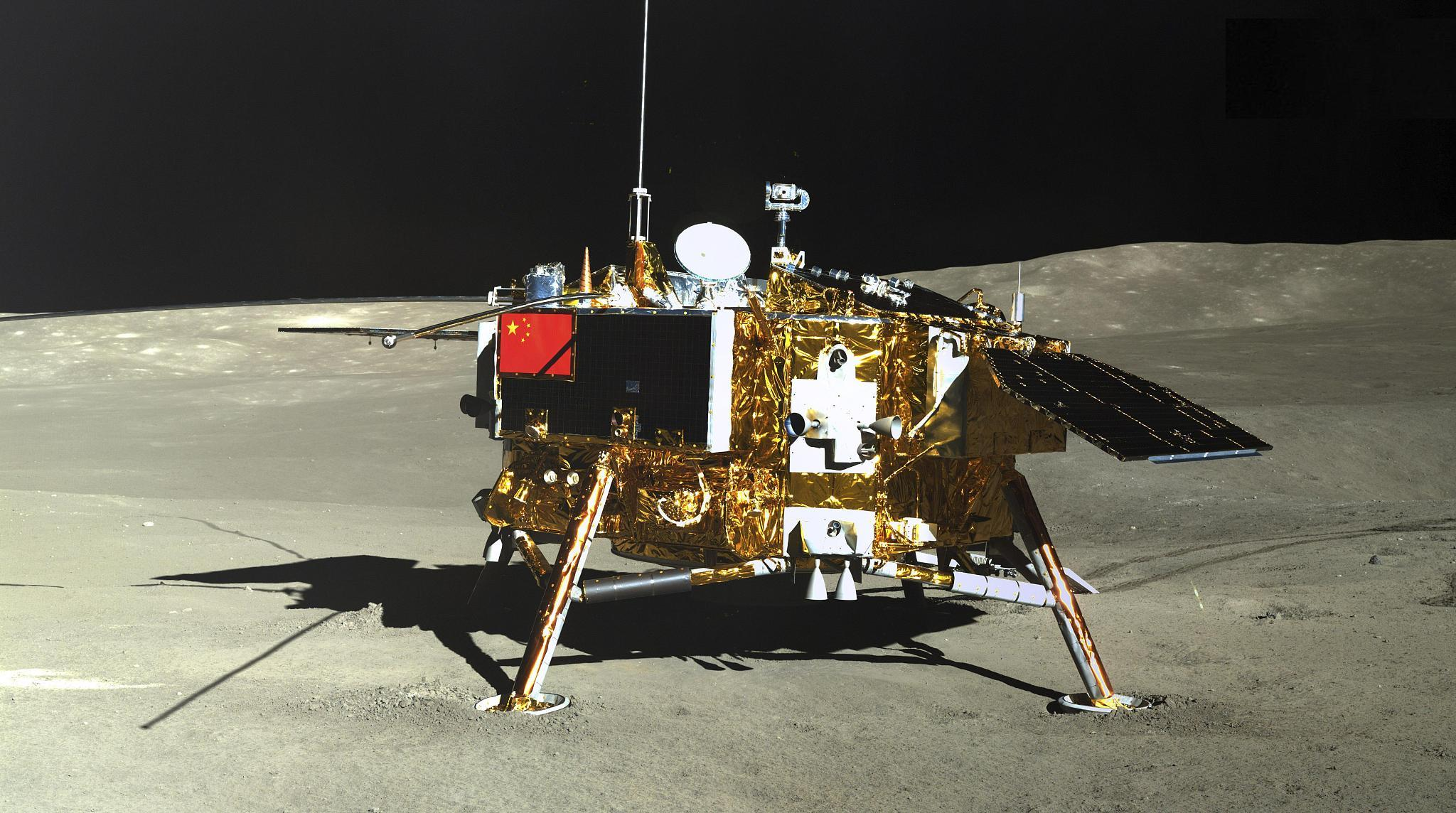 China's Chang'e-4 completes 1,000 days on far side of moon