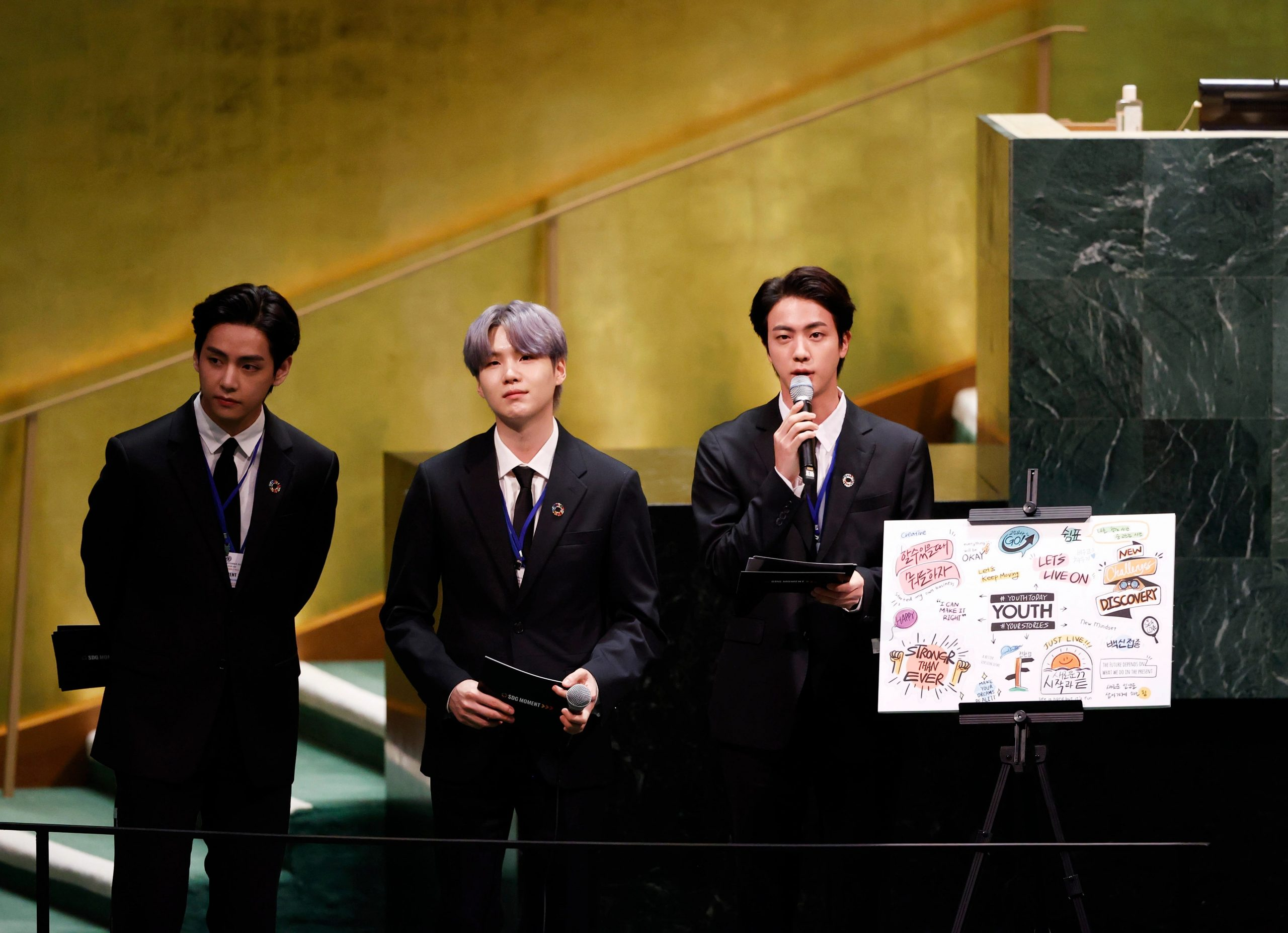 BTS campaign with UN nets millions of dollars -- and tweets