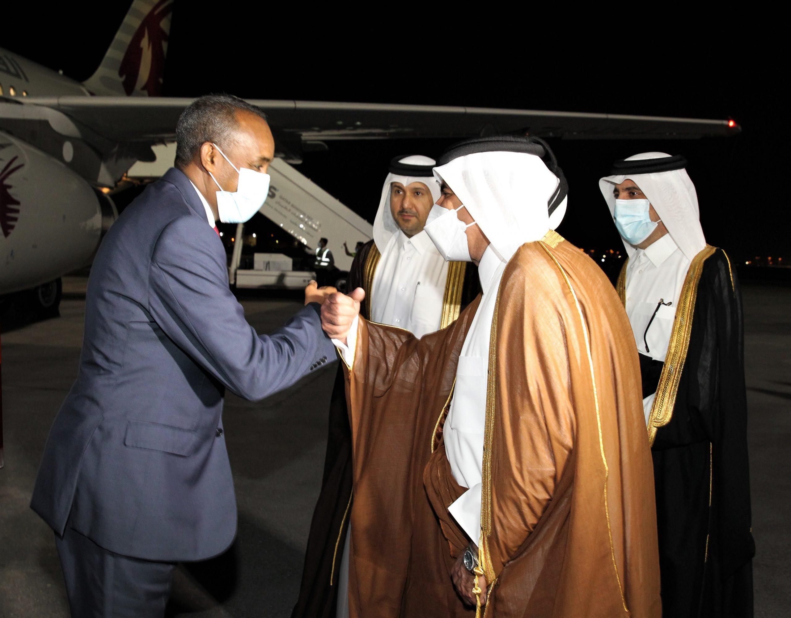 Prime Minister of Somalia Arrives in Doha