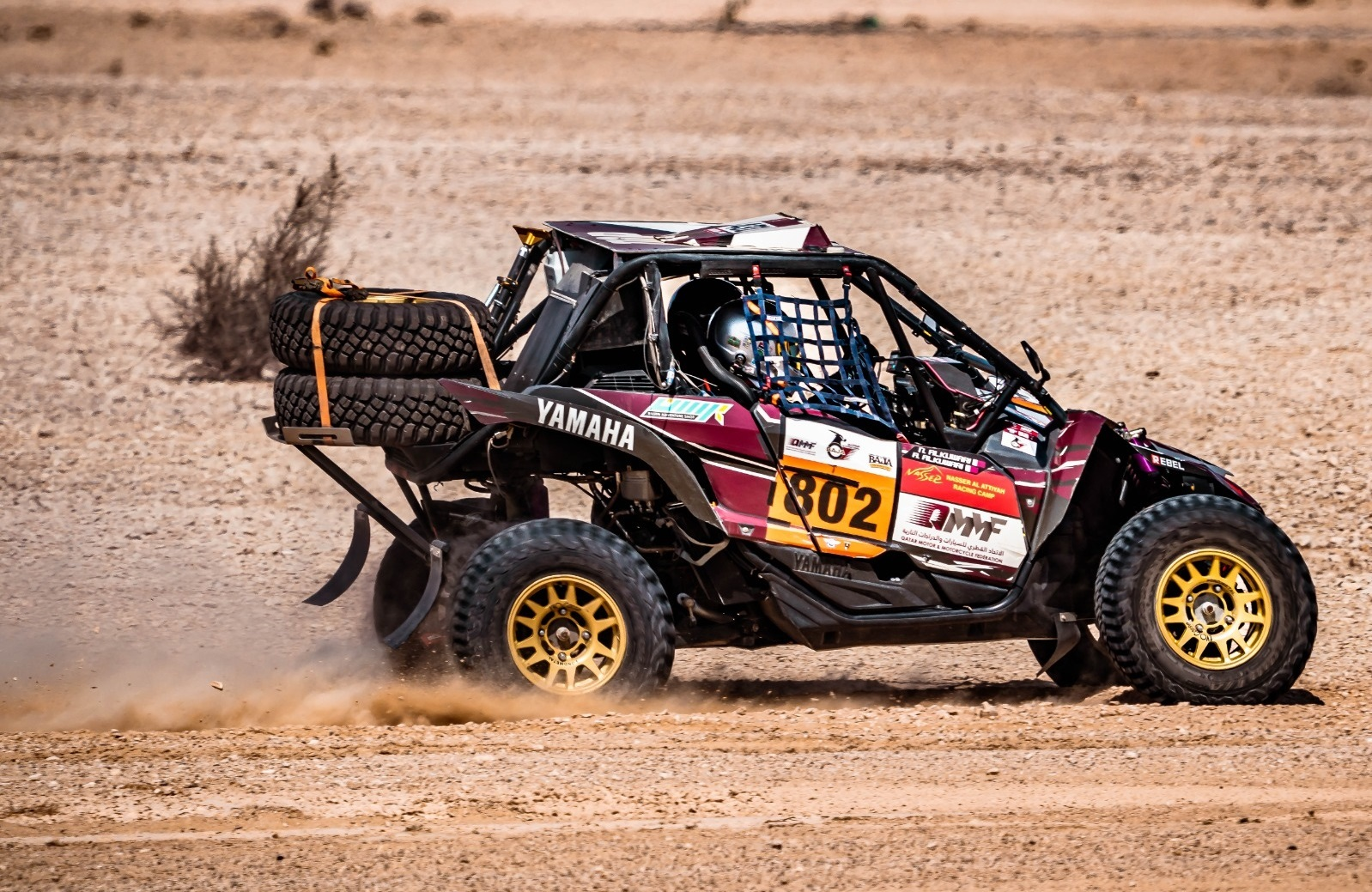 Al Kuwari, Al Tuwaijri, Chalmers Fastest in Qatar International Baja