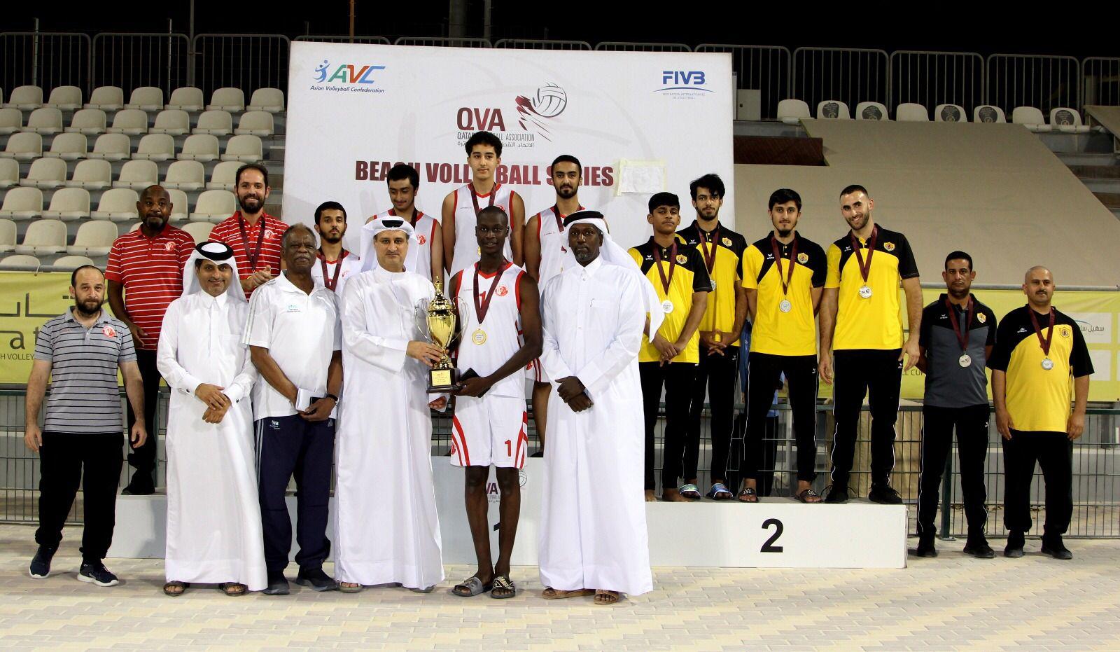 Al-Shamal Crowned Winner of Qatar Beach Volleyball Cup