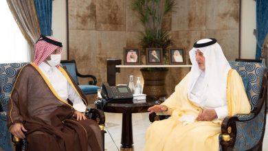 Governor of Makkah Region Meets Qatar's Consul General in Jeddah