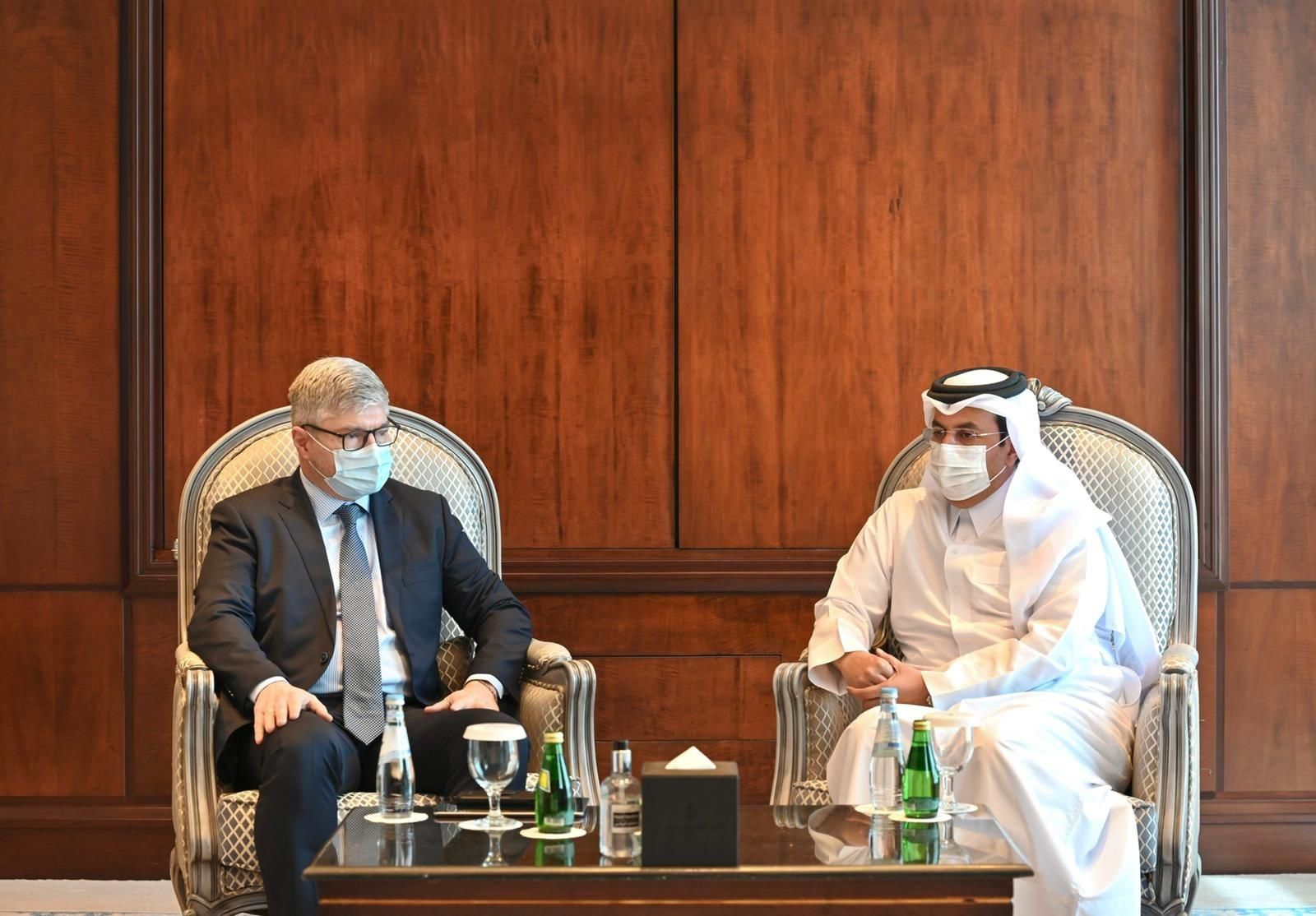 President of Civil Aviation Authority Meets ICAO Secretary-General