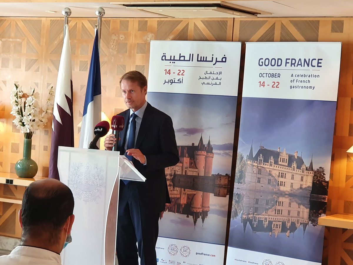 Envoy lauds Qatar-France relations, launches 6th edition of 'Good France'