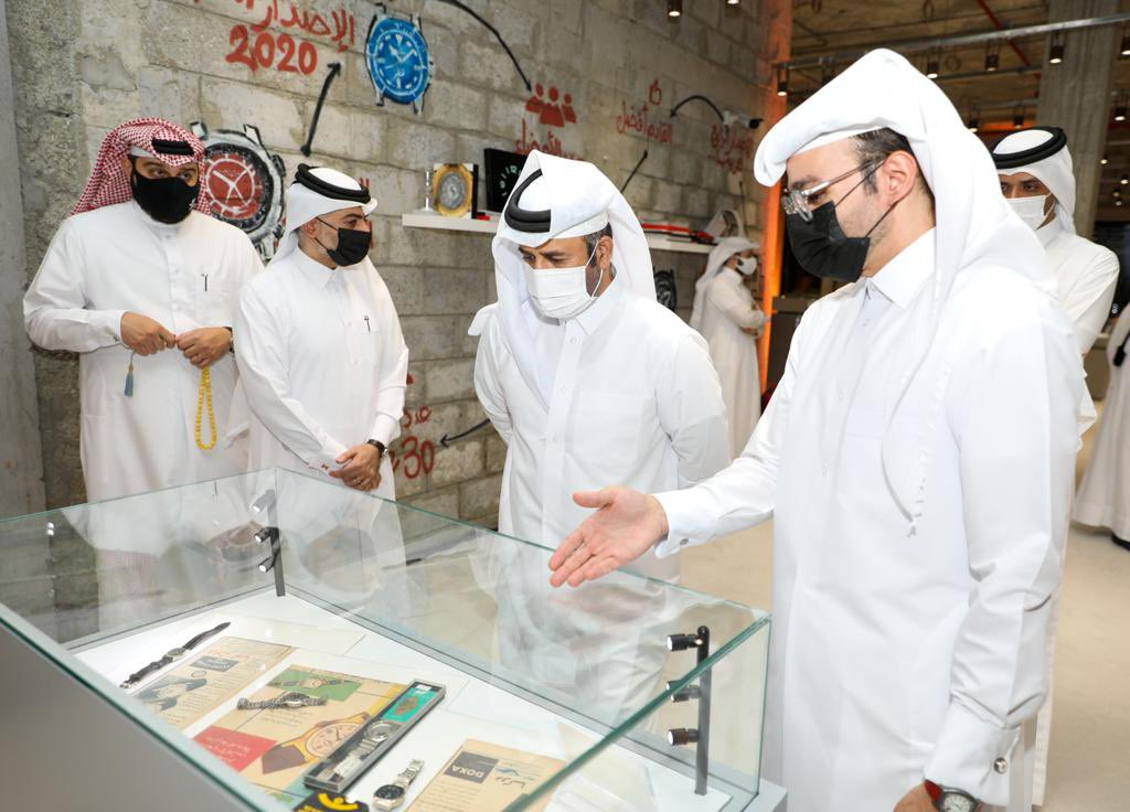 Qatar Watch Club exhibition opens in Katara