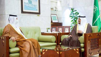 Acting Governor of Riyadh Meets Qatari Ambassador